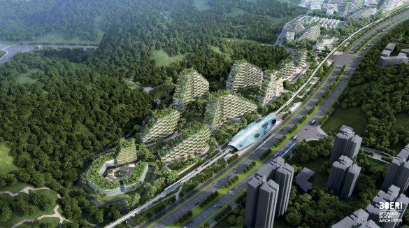 Liuzhou Forest City, Stefano Boeri Architetti