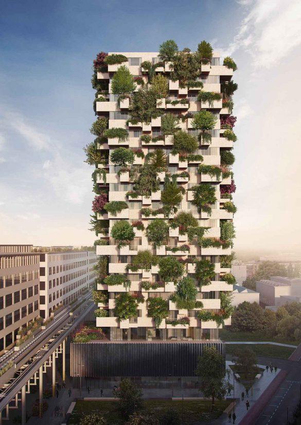 Trudo Tower Eindhoven, Stefano Boeri Architetti