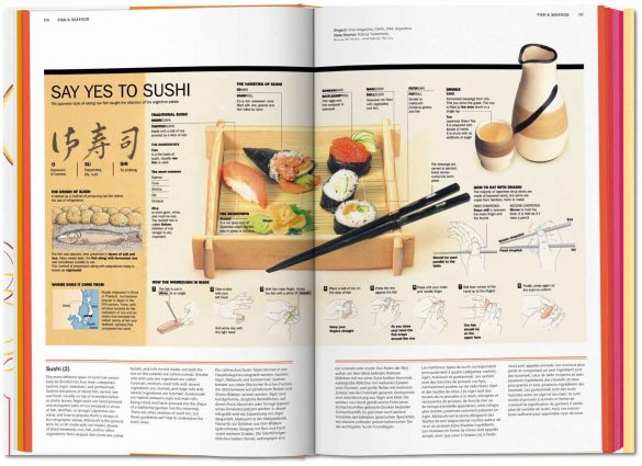 Food & Drink Infographics. Taschen