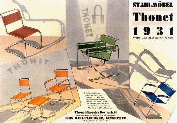 Thonet, 100 Jahre Bauhaus