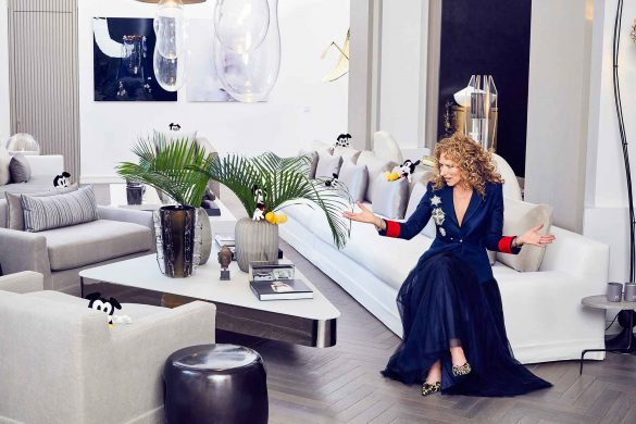 Kelly Hoppen, Disney, Mickey Mouse