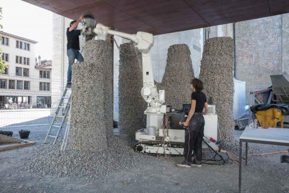 Rock Print Pavilion, Winterthur