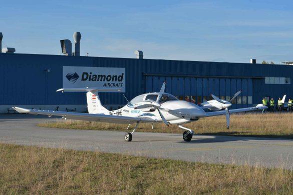 Hybrid-Flugzeug, Diamond Aircraft, Siemens