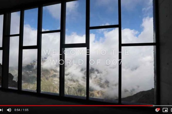 Schallschutz für 007 in den Ötztaler Alpen