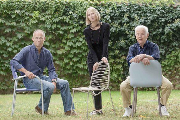 Paolo, Anna und Carlo Bartoli. © Bartoli Design
