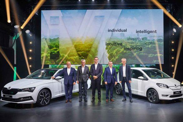 ŠKODA startet in die E-Mobilität