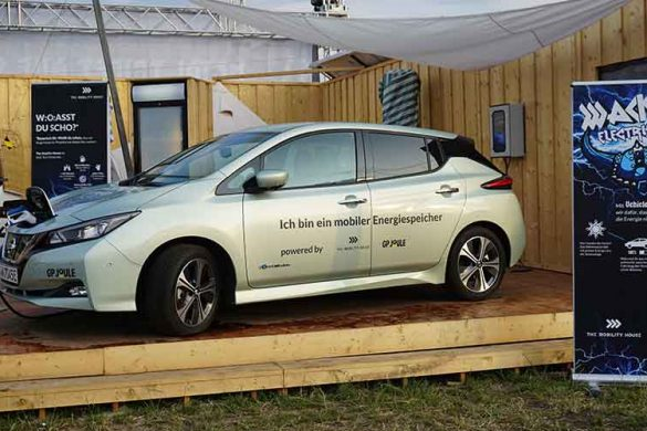 Vehicle-to-Grid in Wacken