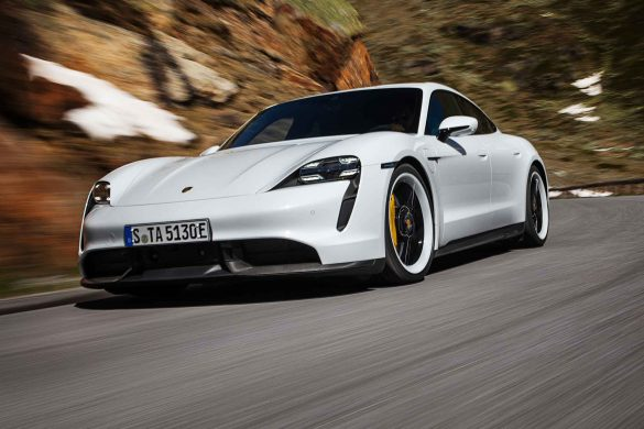 Weltpremiere Porsche Taycan