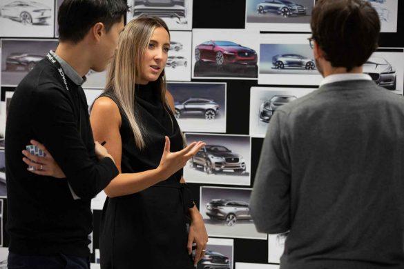 Jaguar Design Studio in Gaydon eröffnet