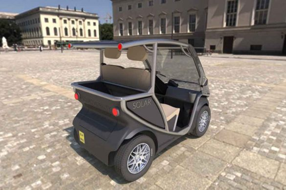 Squad Solar City Car