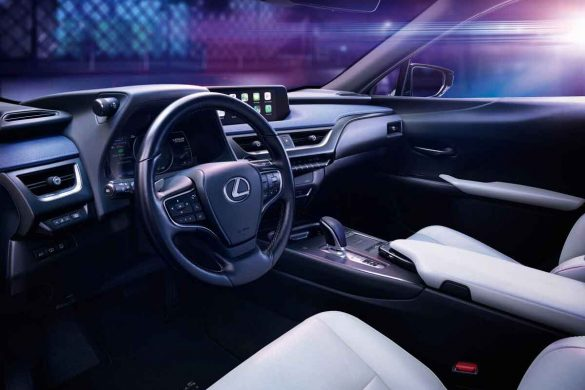 Lexus UX 300e - erstes Serien-E-Auto