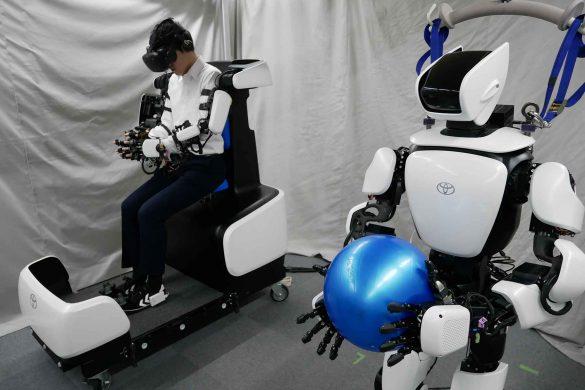 Toyota optimiert humanoiden Roboter