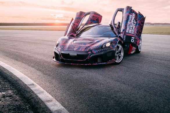 Rimac C-Two Tests