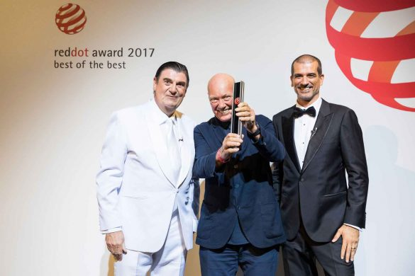 Jean-Claude Biver erhält Red Dot Personality Prize