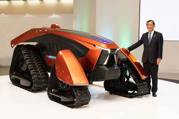 X tractor concept Kubota
