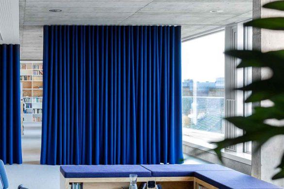 Kinzos Interieurdesign für Suhrkamp