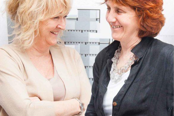 Yvonne Farrell und Shelley McNamara