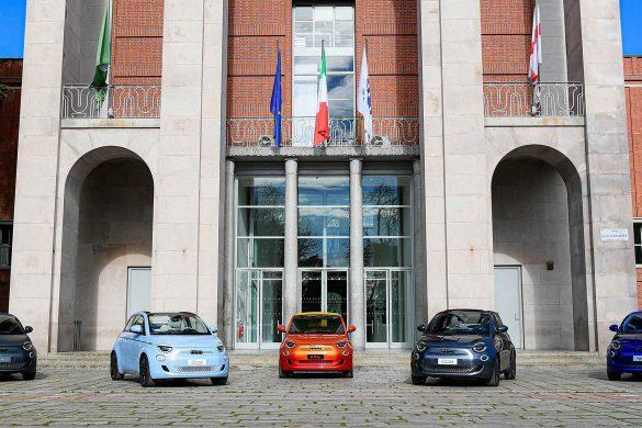 Der neue Fiat 500 full electric