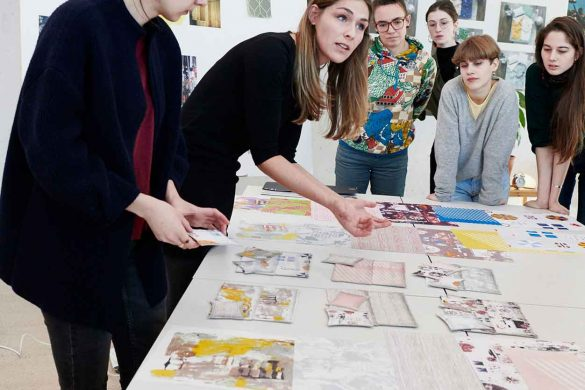 Studierende kreieren für Schlossberg