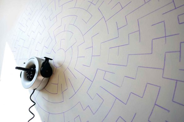 Scribit, Moore, Labyrinth-Rätsel