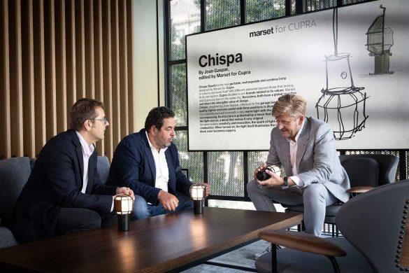 Chispa by Marset for CUPRA