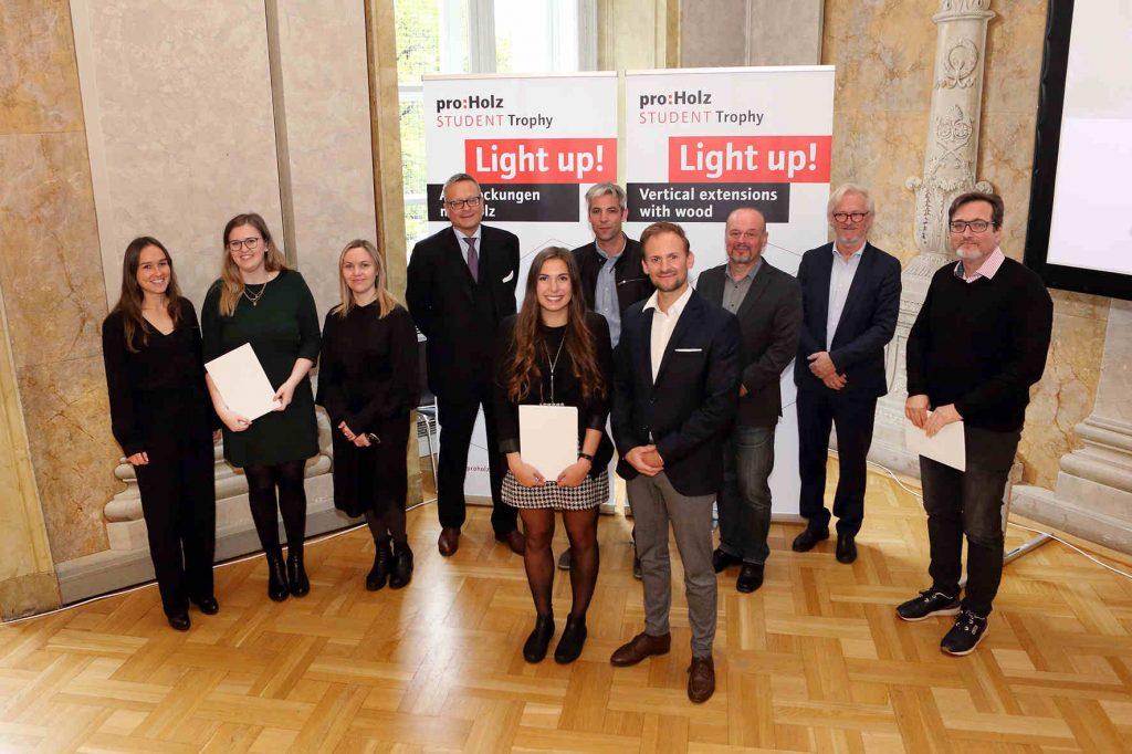 proHolz Student Trophy 2020, Preisverleihung