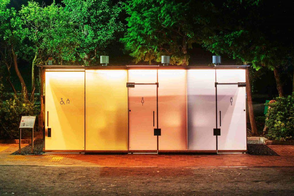 The Tokyo Toilet, Ban