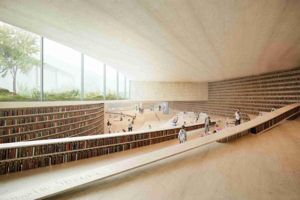 Kengo Kuma, Ibsen-Bibliothek