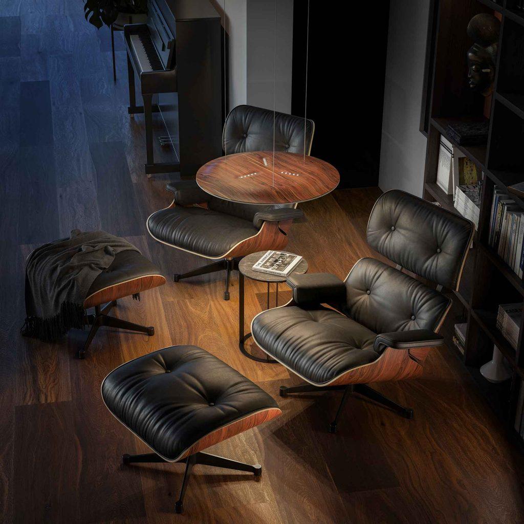 Nimbus, Lighting Pad Lounge