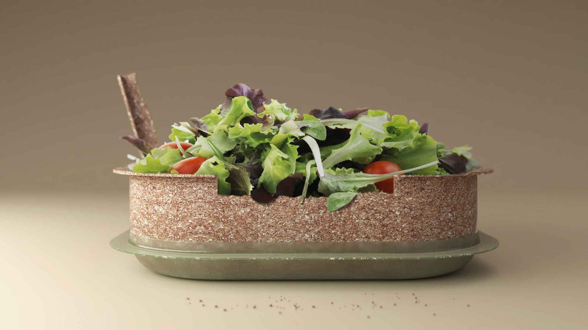 Forest & Whale, essbare Salatbox