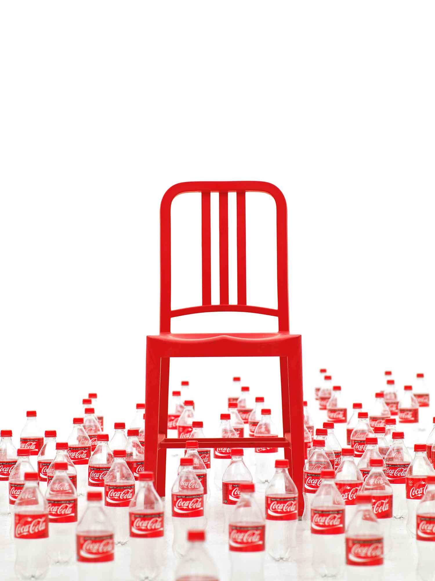 111 Navy Chair, Fantastic Plastic