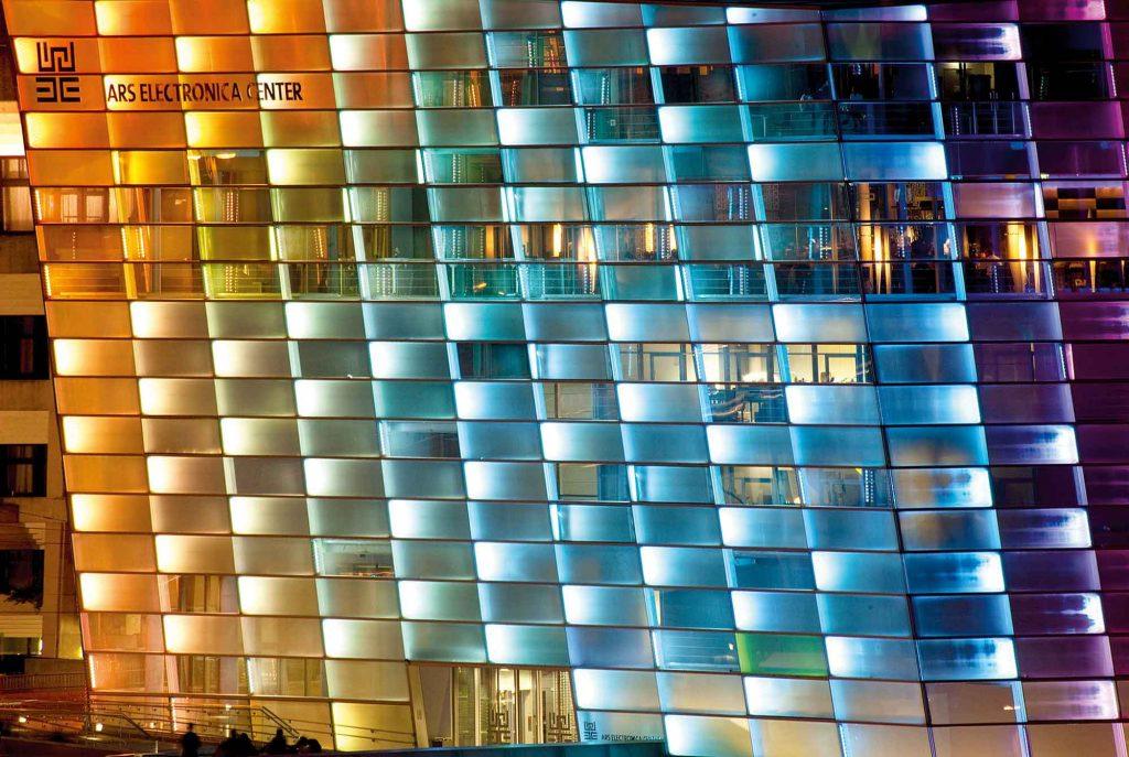Das Ars Electronica Center in Linz. Foto © Nicolas Ferrando