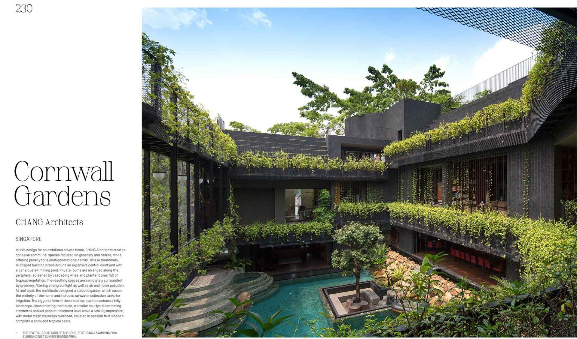 Evergreen Architecture, gestalten