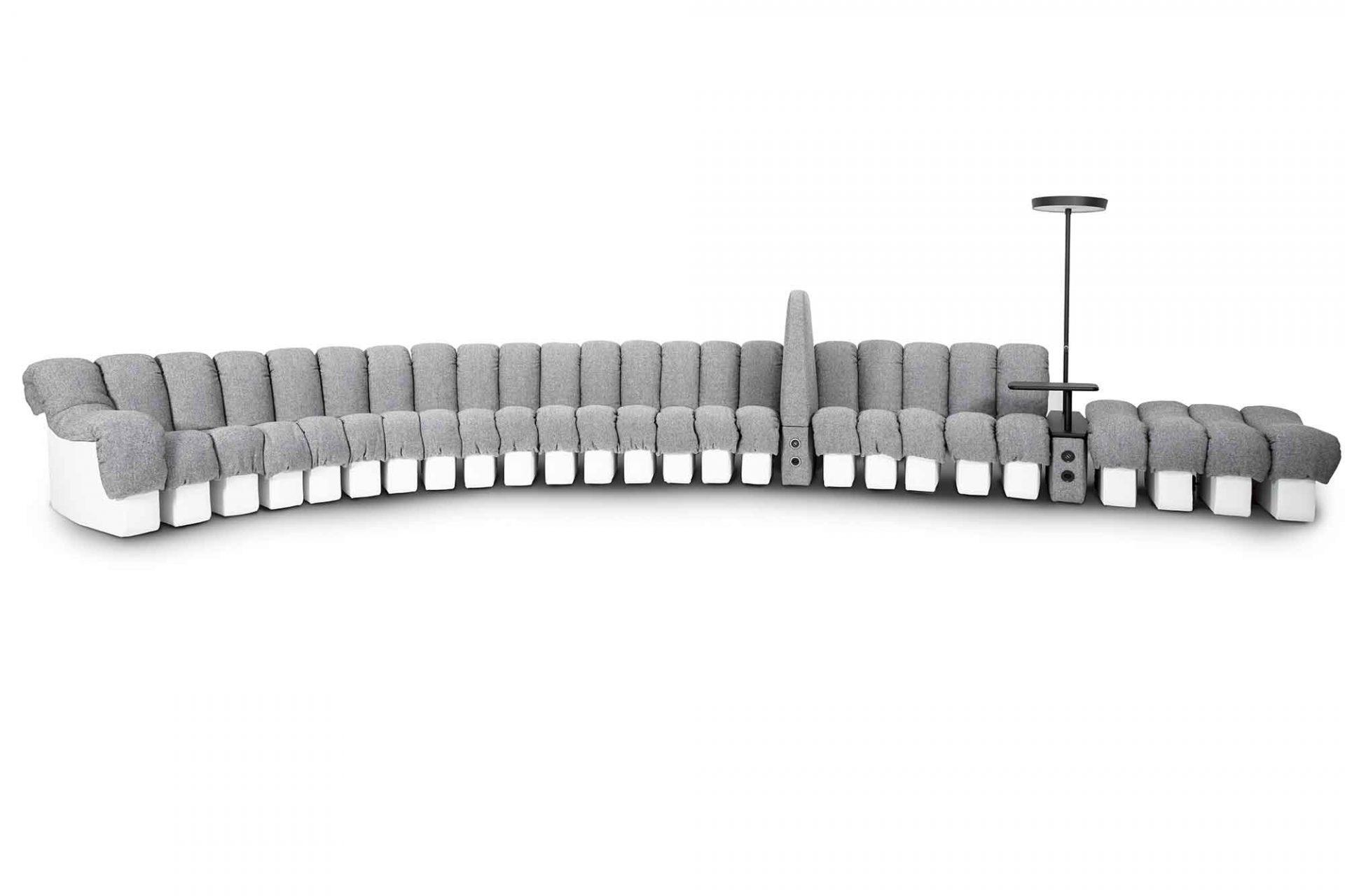DS-601 von de Sede mit Trennelementen