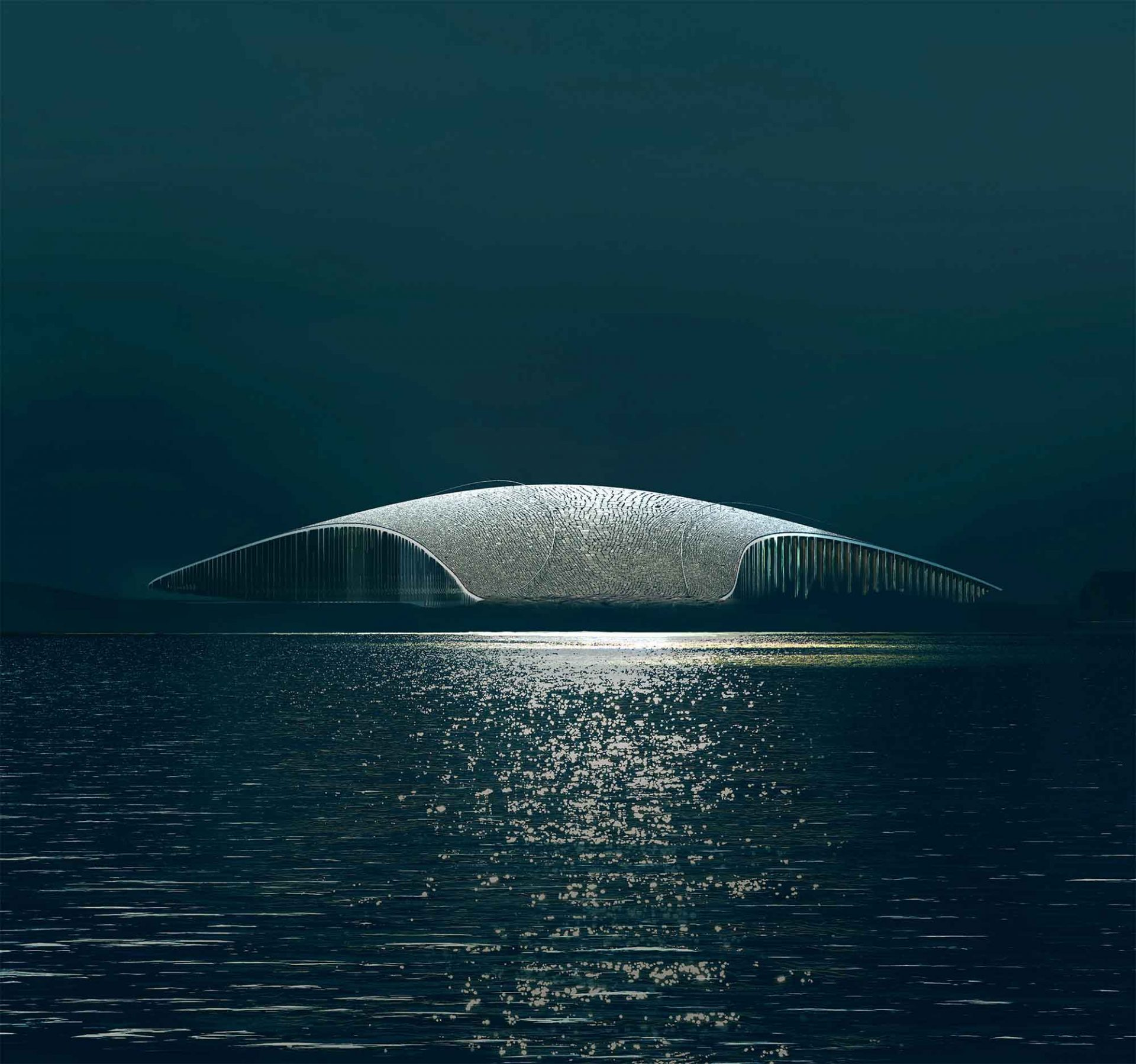 The Whale, Rendering © MIR